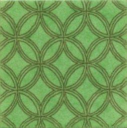 Декор Kerama Marazzi Тантра AD\B90\1221T 9.9х9.9 зеленый