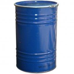 Бочка Тара стальная с крышкой на обруч 210 литров