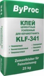 Клей ByProc KLG-341 усиленный для керамогранита 25 кг