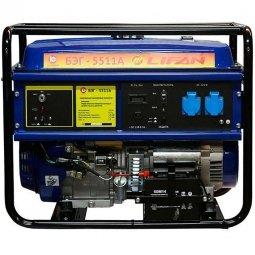 Генератор бензиновый Калибр БЭГ-5511А Lifan
