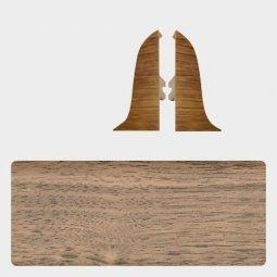 Заглушка торцевая левая и правая (блистер 2 шт.) Т-пласт 016 Пестрое Дерево