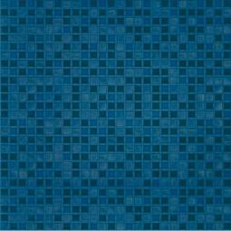 Плитка для пола Береза-керамика Квадро синий 42х42
