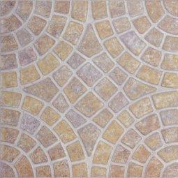 Плитка для пола Сокол Мозаичный мрамор MMM6 орнамент матовая 33х33