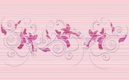 Декор Нефрит-керамика Стрит 04-01-1-09-03-41-071-0 40x25 Розовый