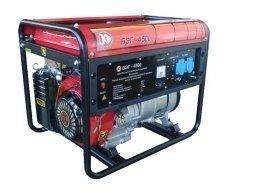 Генератор бензиновый Калибр БЭГ-4500 4000/4500 Вт ручной запуск