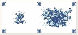 Декор Cersanit Deepblue DB2G032D Синий 20X44