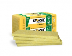 Минераловатный утеплитель Isover Стандарт 50 1200х600х100 мм /4шт