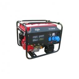 Генератор бензиновый Elitech БЭС 6500 ЕМК 5000/5500 Вт ручной/электрический запуск