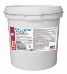 Штукатурка Litokol Litotherm Factura Acryl  Шуба декоративная акриловая 2,0 мм Белая
