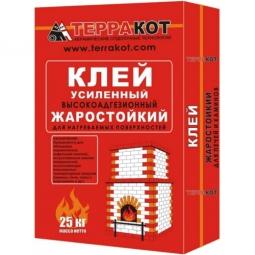Клей Терракот усиленный жаростойкий 3 кг
