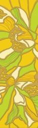 Бордюр Golden Tile Апрель желтый К74301 115х400