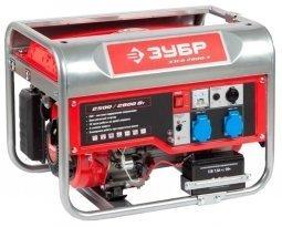 Генератор бензиновый ЗУБР ЗЭСБ-2800-Э 2500/2800 Вт ручной/электрический запуск