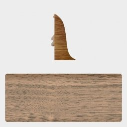 Заглушка торцевая левая (блистер 4 шт.) Т-пласт 016 Пестрое Дерево