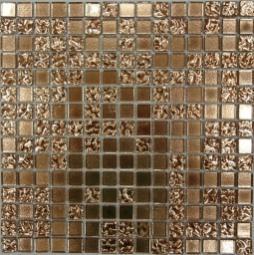 Мозаика Bonаparte Shik Gold - 2 золото глянцевая 32.7х32.7