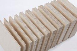 Фанера ФК шлифованная с 2 сторон 10x1525x1525 мм, сорт 2/2, береза