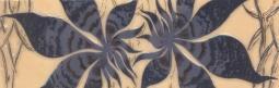 Бордюр Береза-керамика Магия фантазия Фриз синий 25х8