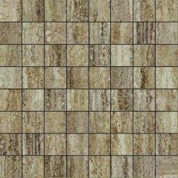 Мозаика Italon Travertino Силвер 29.2х29.2 люкс