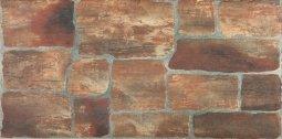 Керамогранит Zeus Ceramica Cottage Red 300x600 Глазурованный