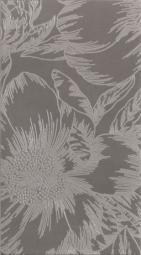 Декор Lasselsberger Готланд Орхидея серый 25х45