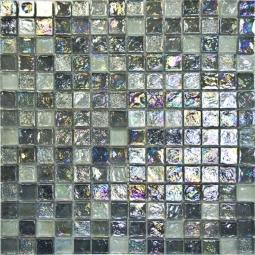 Мозаика Elada Luster Glass JSM-LL055 серебристый микс 30.5x30.5
