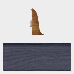 Заглушка торцевая левая (блистер 4 шт.) Т-пласт 035 Дуб Синий