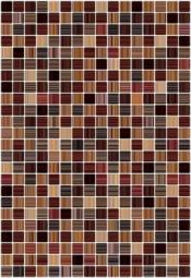 Плитка для стен Керамин Гламур 3Т Коричневый 40x27,5
