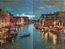 Панно Ceramica Latina Venezia Mural 6 pz 75x100
