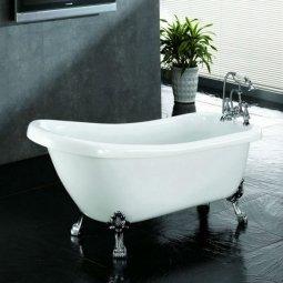 Ванна Faro Ретро 9009 акриловая без ножек 150x76x76