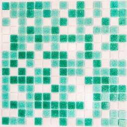 Мозаика Bonаparte Emily зеленая глянцевая 32.7x32.7