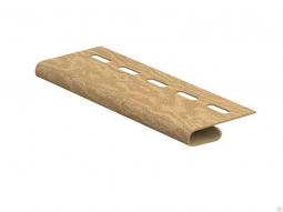 Завершающая планка Ю-Пласт Тимбер-Блок Кедр янтарный