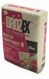 Штукатурка Brozex Гипер Пласт М гипсовая универсальная 30 кг