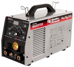 Инверторный аппарат аргонодуговой сварки Quattro Elementi ProTIG 210