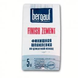 Шпатлевка Bergauf Finish Zement финишная цементная морозостойкая 5 кг