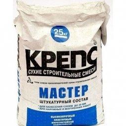 Штукатурка Крепс Мастер цементная 25 кг
