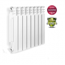 Радиатор биметаллический Oasis 004 500/80 6 секций 0.774 кВт