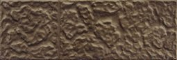 Плитка для стен Сокол Саяны SN-5-2 коричневая полуматовая 12х36.5