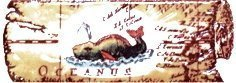 Бордюр Сокол Остров сокровищ орнамент матовый 622-4 7х20