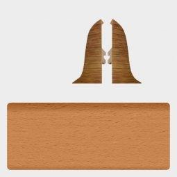 Заглушка торцевая левая и правая (блистер 2 шт.) Т-пласт 003 Бук Натуральный