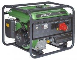 Генератор бензиновый Hitachi Е 40 3300/4000 Вт ручной запуск
