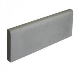 Бордюр «Садовый» малый Вибролитой 500х210х35 Серый
