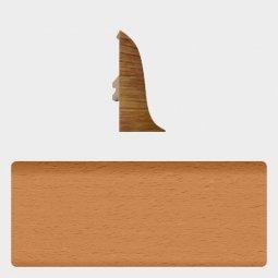 Заглушка торцевая левая (блистер 4 шт.) Т-пласт 003 Бук Натуральный