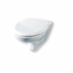 Унитаз подвесной Rosa Элеганс Люкс с сиденьем микролифт белый