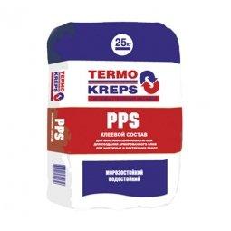 Клеевая смесь Крепс PPS для плит из пенополистерола 25кг