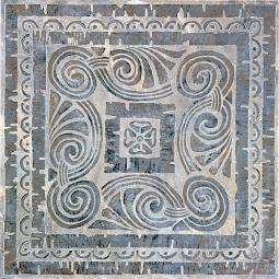 Декор Kerama Marazzi Уффици C253\4020 40,2х40,2 светло-серый