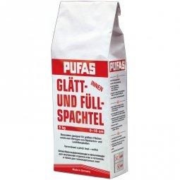 Шпатлевка Pufas №3-ф Glatt- und Fullspachtel для выравнивания неровностей 5 кг