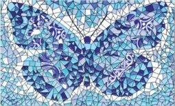 Декор Сокол Гауди D-693 орнамент глянцевый 33х20