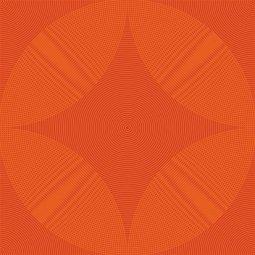 Плитка для пола Сокол Гольфстрим GFS5 оранжевая глянцевая 33х33