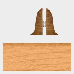 Заглушка торцевая левая и правая (блистер 2 шт.) Т-пласт 006 Вишня Светлая