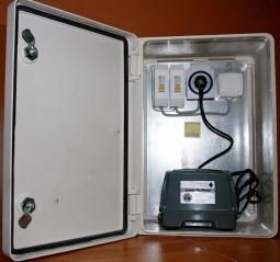 Шкаф управления FloTenk для BioPurit встроенный Standart