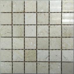 Мозаика Bonаparte Sorento-48 бежевая полированная 30.5х30.5